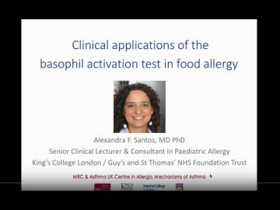 Webinar - Clinical Applications of the Basophil Activation Test in Food Allergy