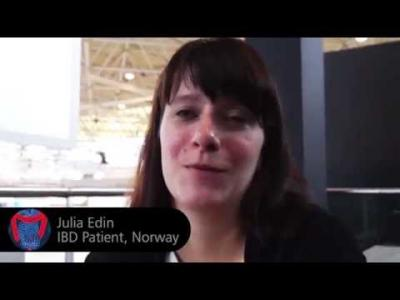 Julia Edin a Patient from Norway tells us about her experience using IB<i>Doc</i><sup>&reg;</sup> Calprotectin Home Test