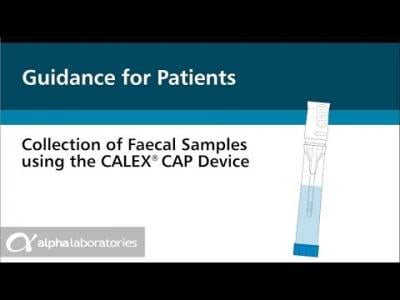 Easy Collection of Faecal Samples using the CALEX® Cap Device