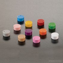 Colour code cap inserts