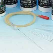 Aspirator Tube Assembly 15 inch Rubber with connector Pack of 1 for use with Drummond Calibrated Micropipettes