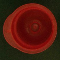Vacu-Re-Caps 12mm Red Pack of 1000 for resealing 12mm diameter vacuum collection tubes