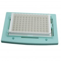 Block ELISA plate compatible with the ThermoCell Dry block heater range for molecular biology incubation applications
