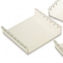 Gel Tray UV transmissible 7x7cm with 2 comb slots for casting agarose gels. Compatible with the Clarit-E Mini Gel tank.