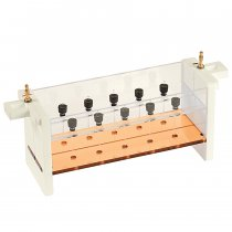 Capillary Tube gel unit includes Clarit-E Mini Wide vertical electrophoresis tank and capillary gel insert with capillary tubes and blanking ports