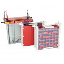 2D System 20x20cm including Clarit-E Vertical Maxi Z Dual gel tank with running and capillary gel modules plus accessories