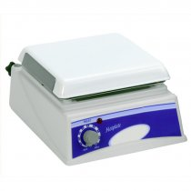 Hotplate 19x19cm with chemical resistant top plate and simple temperature adjustment