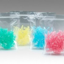 Midi Centrifuge Tube Graduated Non-sterile 5ml Assorted individually packed colours 4 Packs of 50 for centrifugation of intermediate volume samples