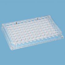 Microtitre Plate 96 V-well Polystyrene Non-Sterile Alpha-numerical indexing Raised well rims to prevent contamination 10 Packs of 10