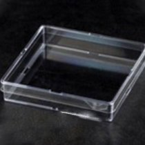 Petri dish 100mm square non-compartmentalised ideal for antibiotic sensitivity testing when a large surface area and very flat base is required
