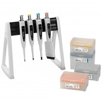 Pipette Manual 3+1-Pack Multipack Variable Volume Proline® Plus 0.5-10µl 20-200µl 100-1000µl and 30-300 Sartorius with Tips and Linear Stand