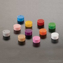 Cap insert Assorted colours for colour coding cryogenic vials from the Classic, Feel the Seal or Ultimate Security ranges