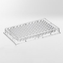 Microplate 96-well U-shape 0.3ml Capacity Polystyrene Sterile Alpha-numerical indexing Raised well rims to prevent contamination 20 packs of 5.