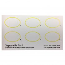 Agglutination cards for manual Blood typing and latex agglutination tests 6 x 25 cards, PS-121, Immunostics