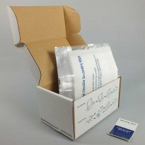 Sample transport system for mailing of category B biological samples to UN3373 P650 packaging instruction Rigid Flexible 95 500G 194 x 125 x 102mm